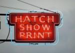 2 Hatch Show Print